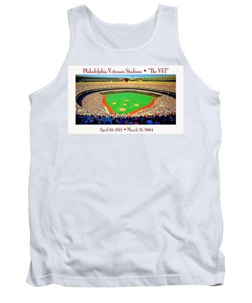 Philadelphia Veterans Stadium The Vet Tank Top