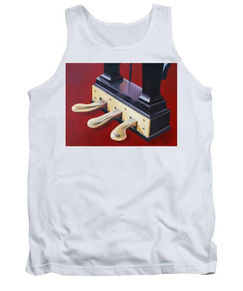 Piano Pedals Tank Top