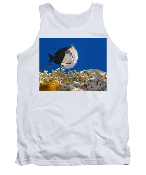 Picasso Fish And Klunzingerwrasse Tank Top