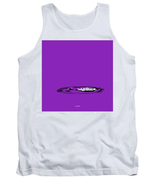 Tank Top featuring the digital art Piccolo In Purple by Jazz DaBri
