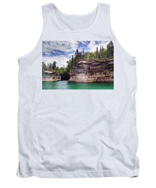 Pictured Rocks Tank Top by Alan Casadei