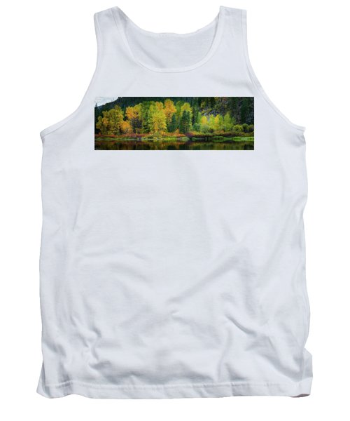 Picturesque Tumwater Canyon Tank Top by Dan Mihai