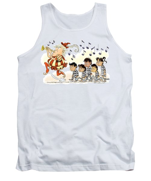 Pied Piper Trump And Infestation Tank Top