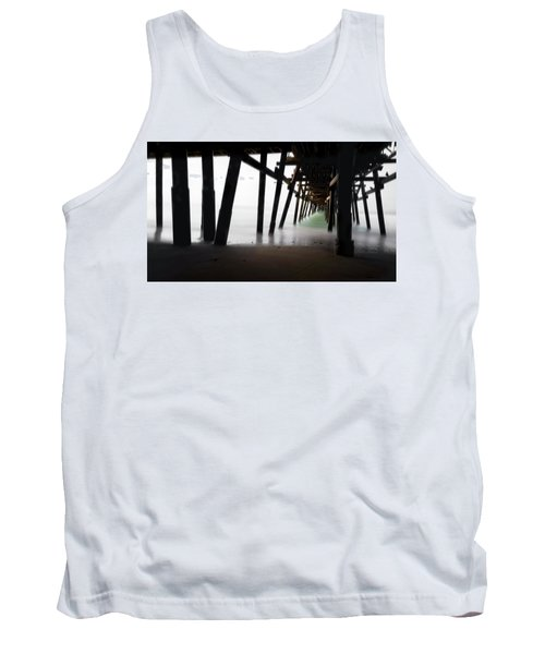 Tank Top featuring the photograph Pier Pressure by Sean Foster