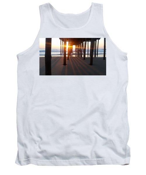 Pier Shadows Tank Top by Robert Banach