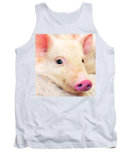 Pig Art - Pretty In Pink Tank Top