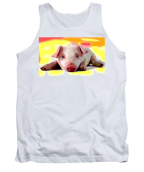 Pig In A Poke Tank Top by Charles Shoup