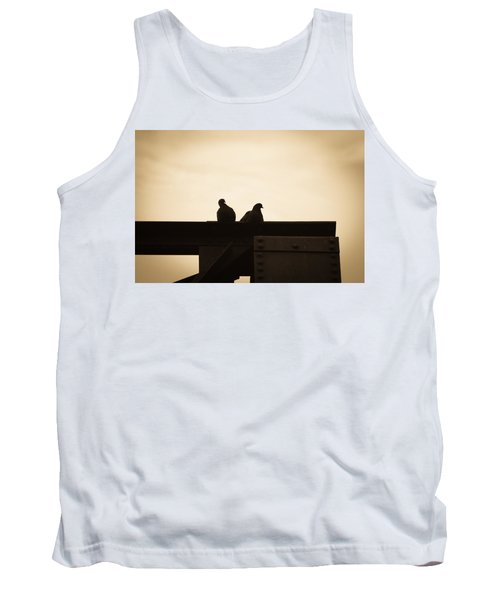 Pigeon And Steel Tank Top