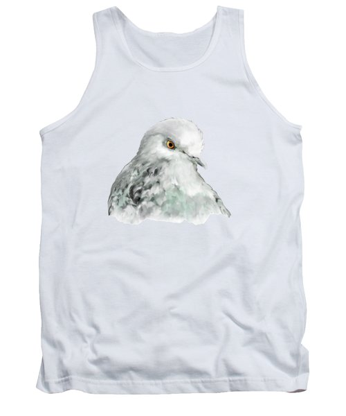 Pigeon Tank Top by Bamalam  Photography