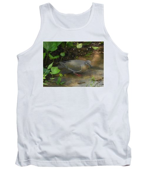 Tank Top featuring the photograph Pigeon by Felipe Adan Lerma