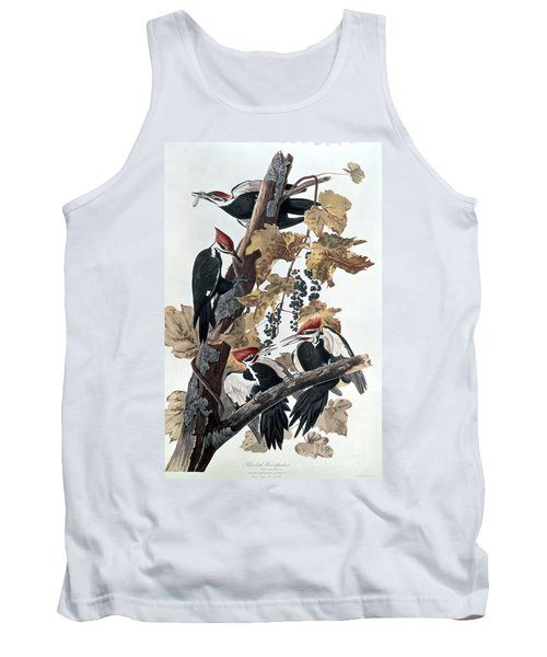 Pileated Woodpeckers Tank Top