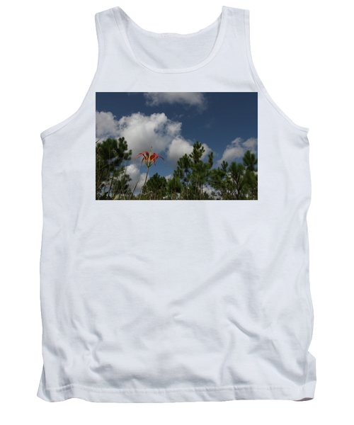 Pine Lily And Pines Tank Top