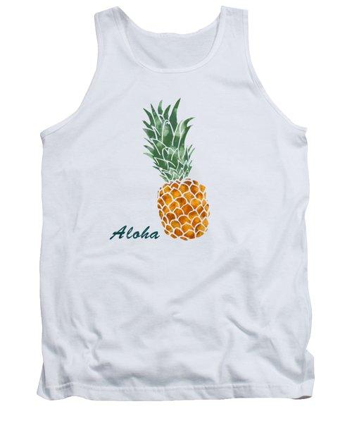 Pineapple Tank Top by Jirka Svetlik