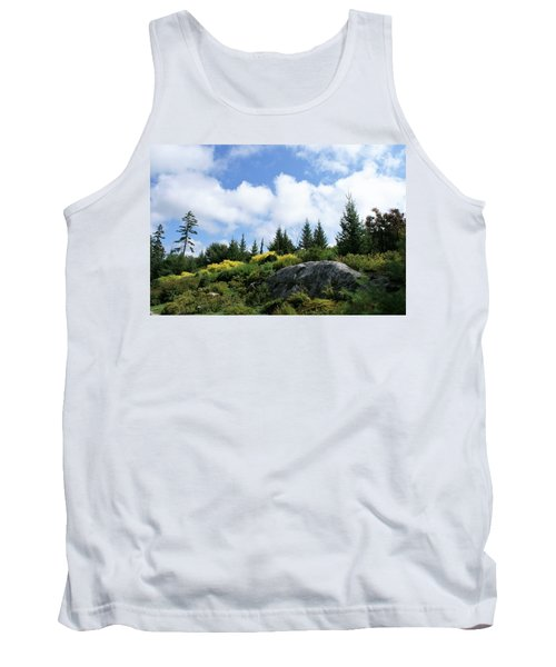 Pines At The Top Tank Top by Lois Lepisto