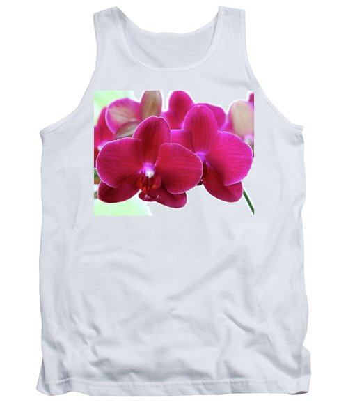 Red Orchid Tank Top