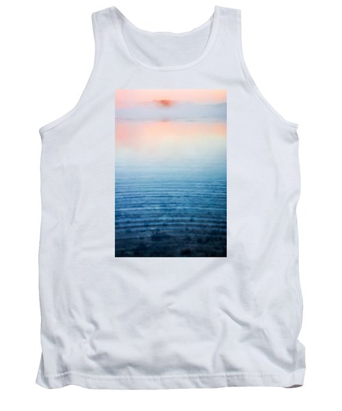 Pink Fog At Sunrise Tank Top by Shelby  Young