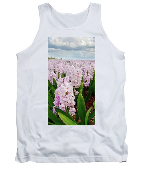 Pink Hyacinth  Tank Top by Mihaela Pater