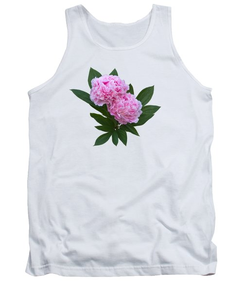 Tank Top featuring the photograph Pink Peonies by Jane McIlroy