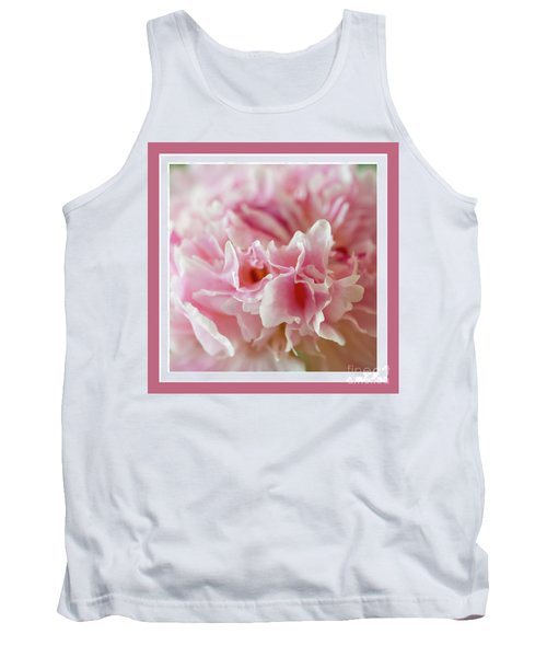 Tank Top featuring the photograph Pink Perfection by Wendy Wilton