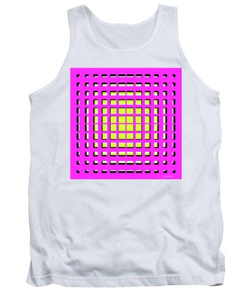 Pink Polynomial Tank Top