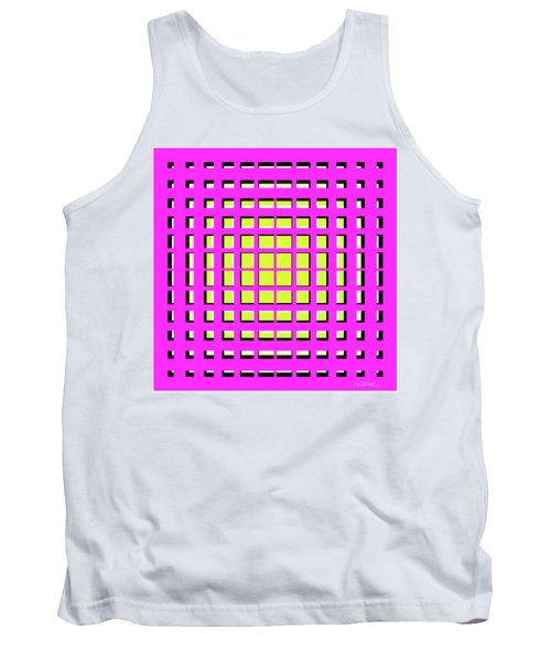 Pink Polynomial Tank Top