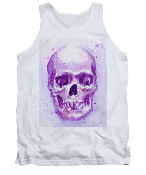 Pink Purple Skull Tank Top