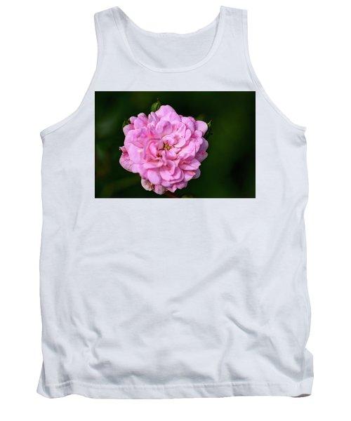 Pink Rose Petals Tank Top