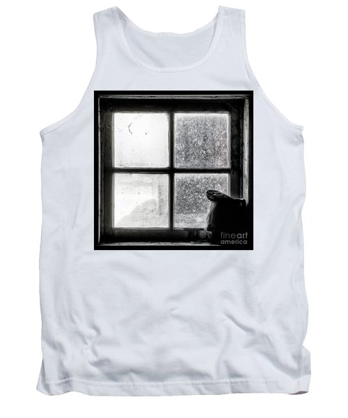 Tank Top featuring the photograph Pitcher In The Window by Brad Allen Fine Art