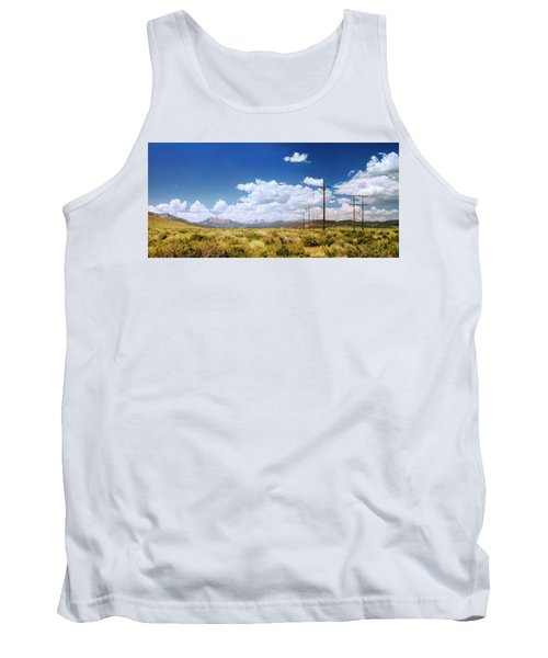 Plains Of The Sierras Tank Top