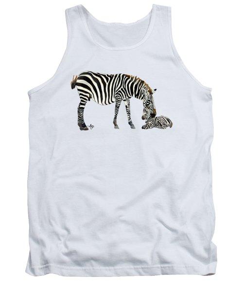 Plains Zebras Tank Top