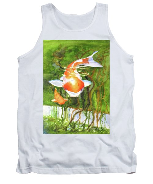 Play Koi With Me Tank Top by Bonnie Rinier