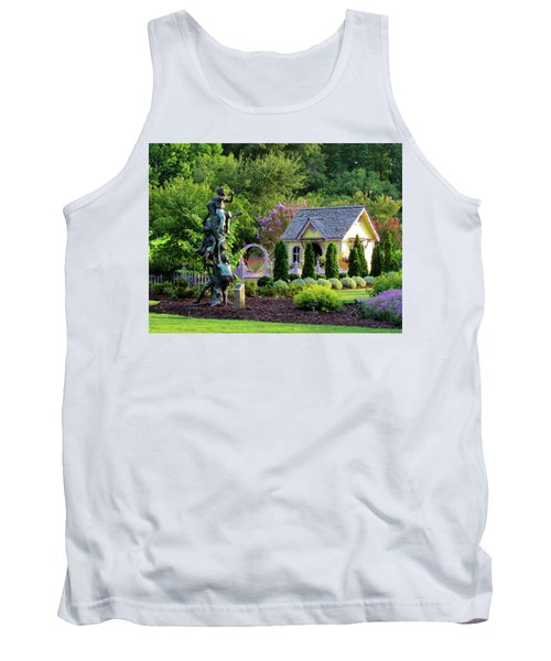 Playhouse In The Garden Tank Top
