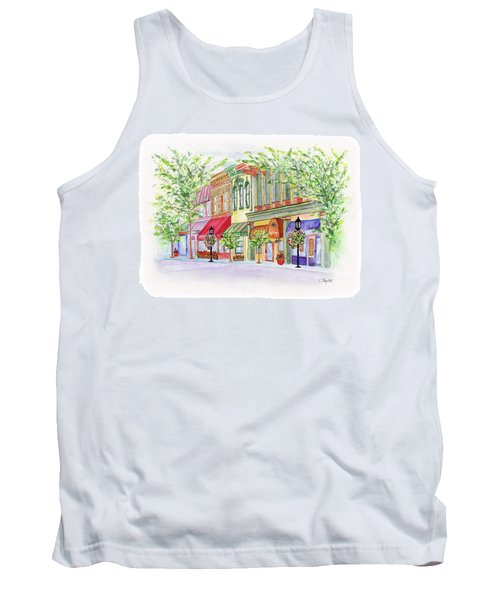 Plaza Shops Tank Top