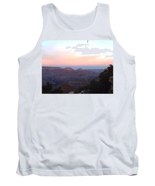 Pleasant Evening At The Canyon Tank Top by Adam Cornelison