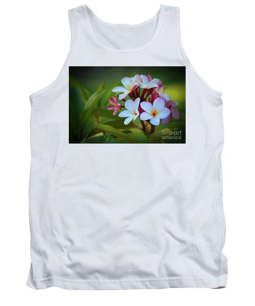 Tank Top featuring the photograph Plumeria Sunset by Kelly Wade