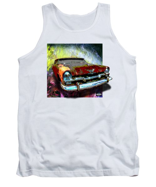 Plymouth From The Past Tank Top