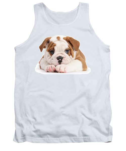 Po-faced Bulldog Tank Top