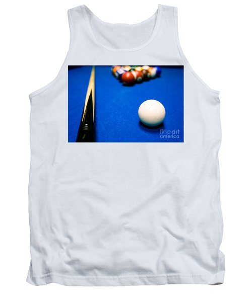 8 Ball Pool Table Tank Top