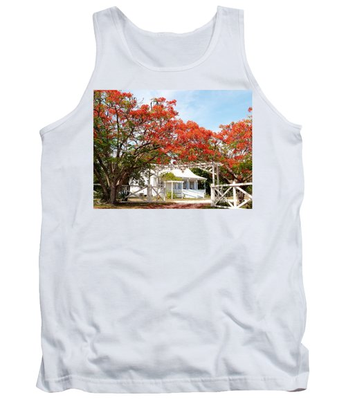 Poinciana Cottage Tank Top by Amar Sheow