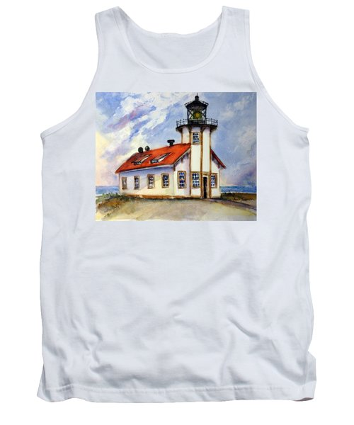 Point Cabrillo Light Station - Fort Bragg Tank Top