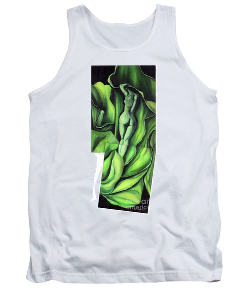 Tank Top featuring the painting Pollination by Fei A