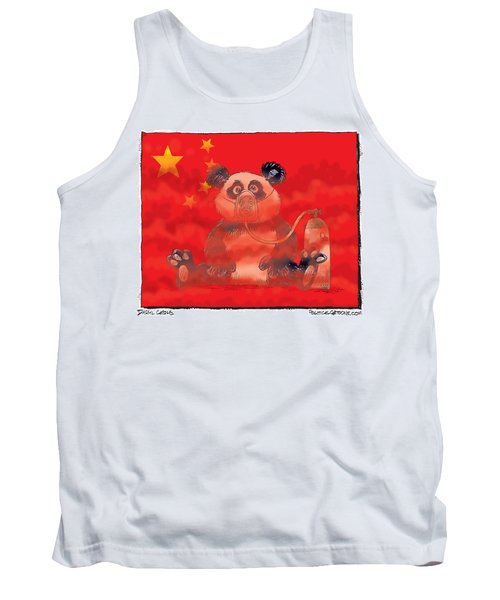 Pollution In China Tank Top