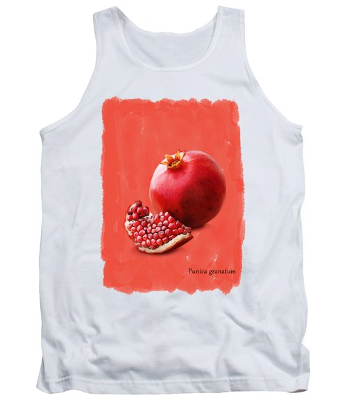 Pomegranate Tank Top