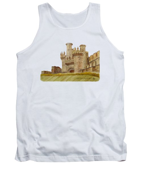 Ponferrada Templar Castle  Tank Top