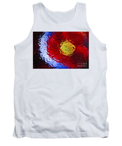 Tank Top featuring the photograph Poppy Impressions by Jeanette French