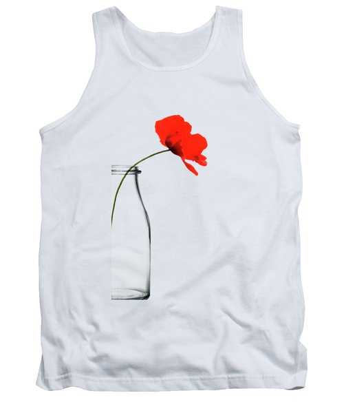 Poppy Red Tank Top