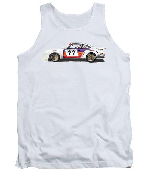 Porsche 1977 Rsr Illustration Tank Top