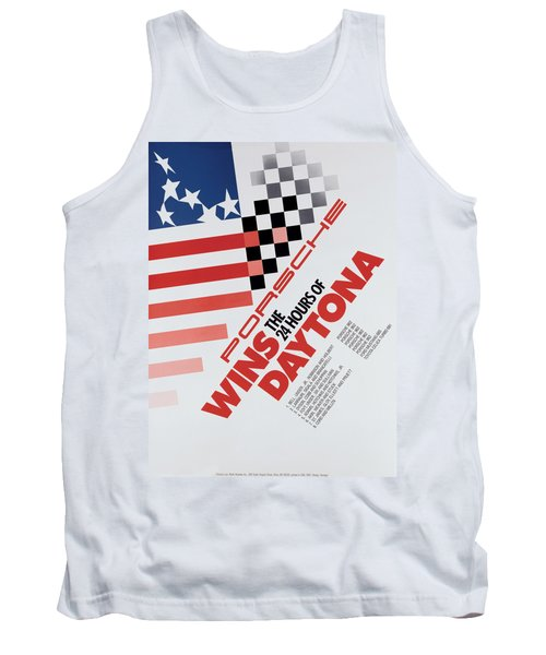 Porsche 24 Hours Of Daytona Wins Tank Top