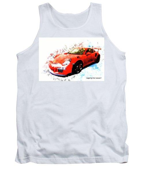 Porsche 911 Gts Tank Top
