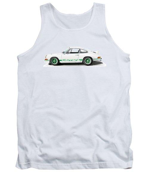 Porsche Carrera Rs Illustration Tank Top